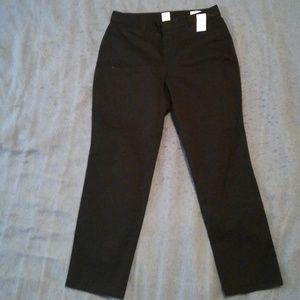 Gap Curvy Slim City Crop Pants